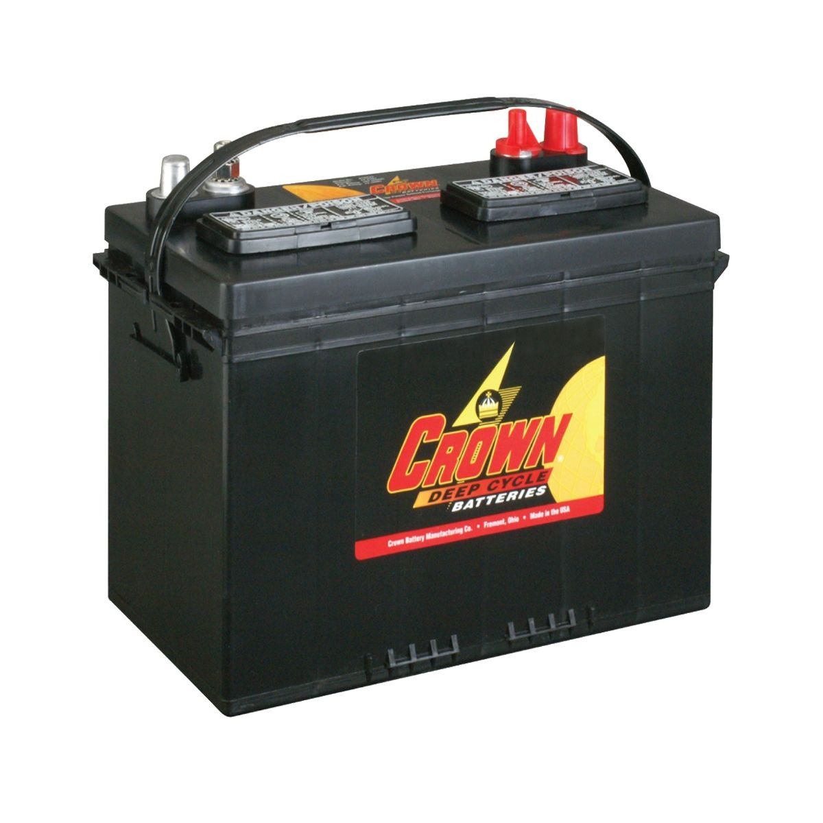 crown 27dc105 12v 105ah marine deep cycle battery battery ex vat buy online from the. Black Bedroom Furniture Sets. Home Design Ideas