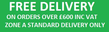 Free delivery on orders over £600
